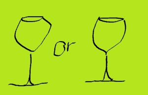 Can you really tell the difference when you drink out of each glass? I can't.